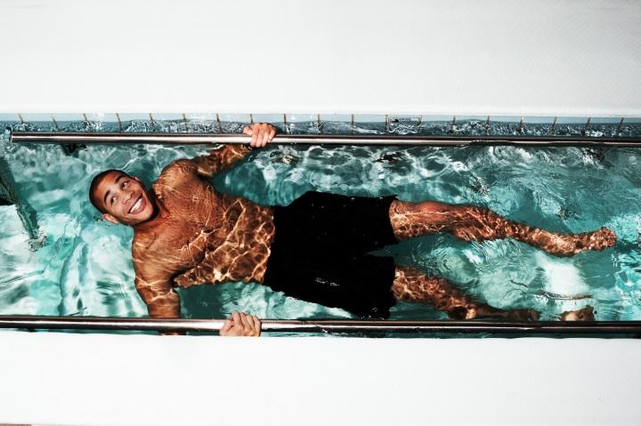 Oguchi In The Physio Pool